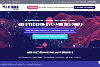 web site designed