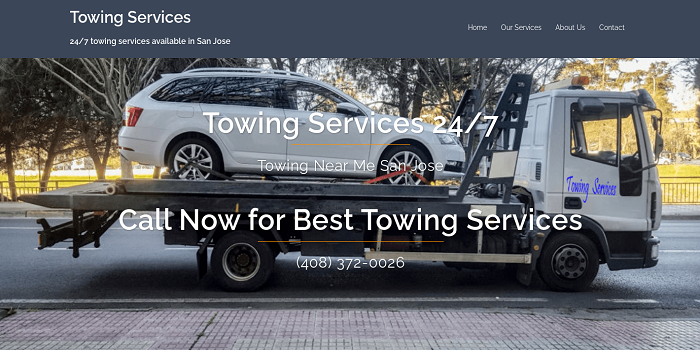 san jose towing