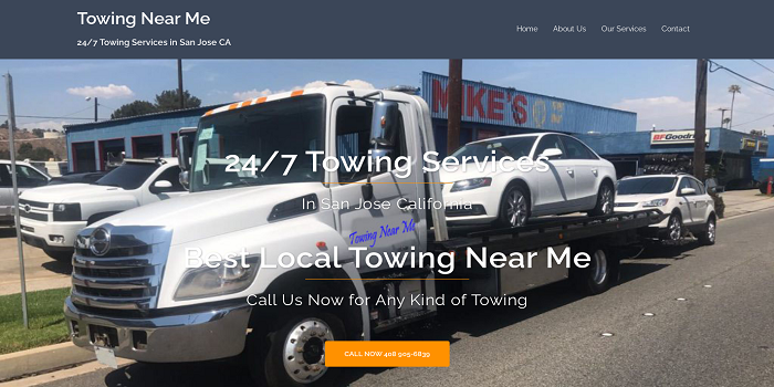 24 hour towing san jose